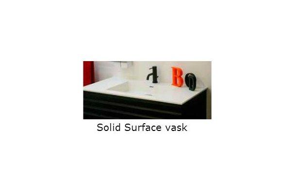 Cassøe Hvid SolidSurface vask til møbel