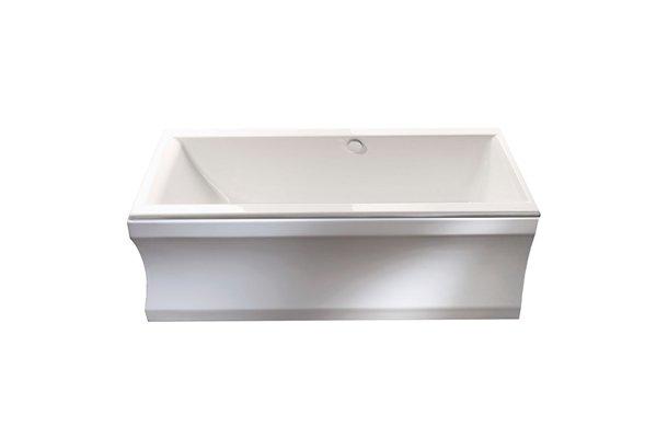 Cleo rektangulært badekar i flere størrelser