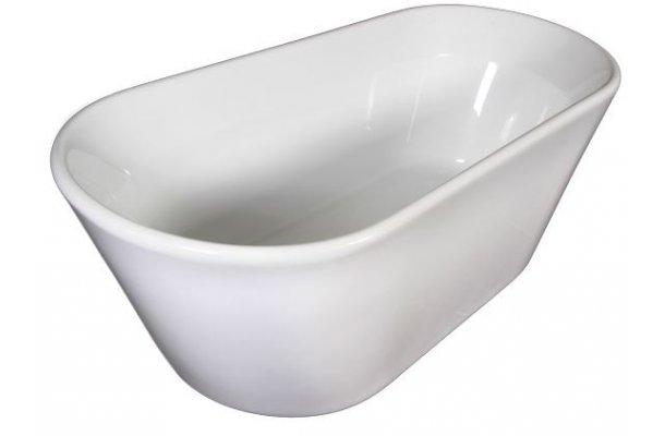 Lecia Hvid fritstående badekar 158x70 - Royal Bad & Spa