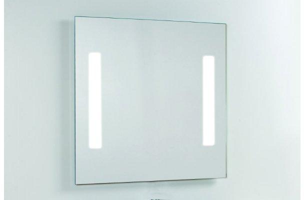 Fabriksnye Billig led spejl med lysfelter, køb billigt hos flottebade.dk SQ-55