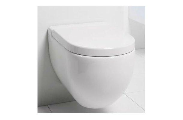 Axa One Væghængt toilet - INKL. SÆDE