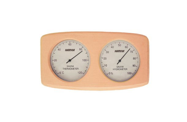 Harvia Termo Hygrometer i træramme 9d2ce3174b12b
